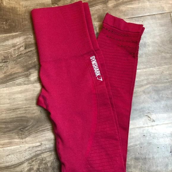 8d8c2b89694f7 gymshark Pants | 4trade Seamless Full Length Beet Marl Xs | Poshmark